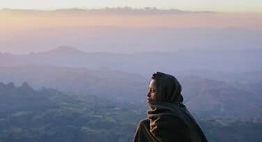 Amhara Woman in her country 2
